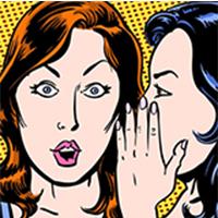O que devo fazer quando alguém vem me falar de outra pessoa?