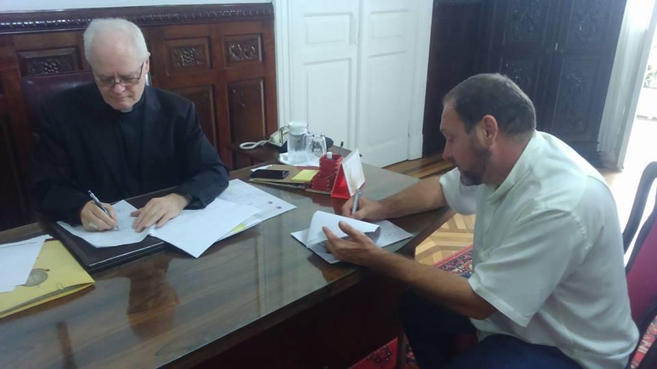 Arquidiocese de São Paulo e Província Salvatoriana Brasileira renovam parceria por mais 20 anos