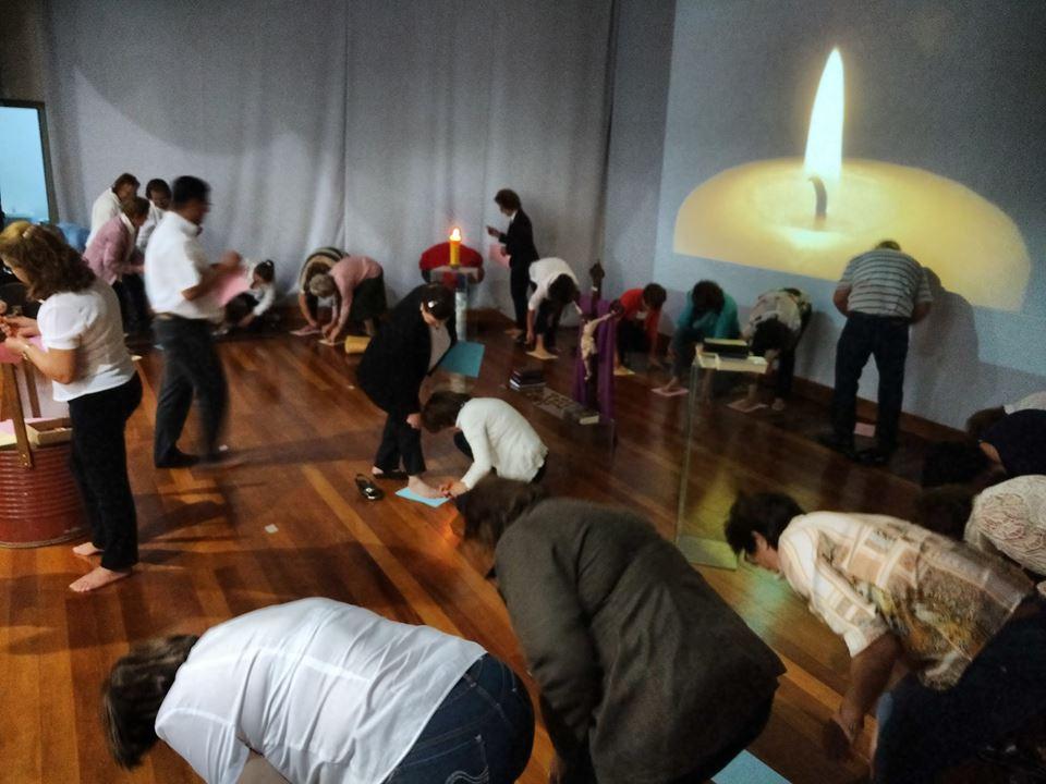 Retiro de Ministros Extraordinários da Eucaristia em Videira – SC