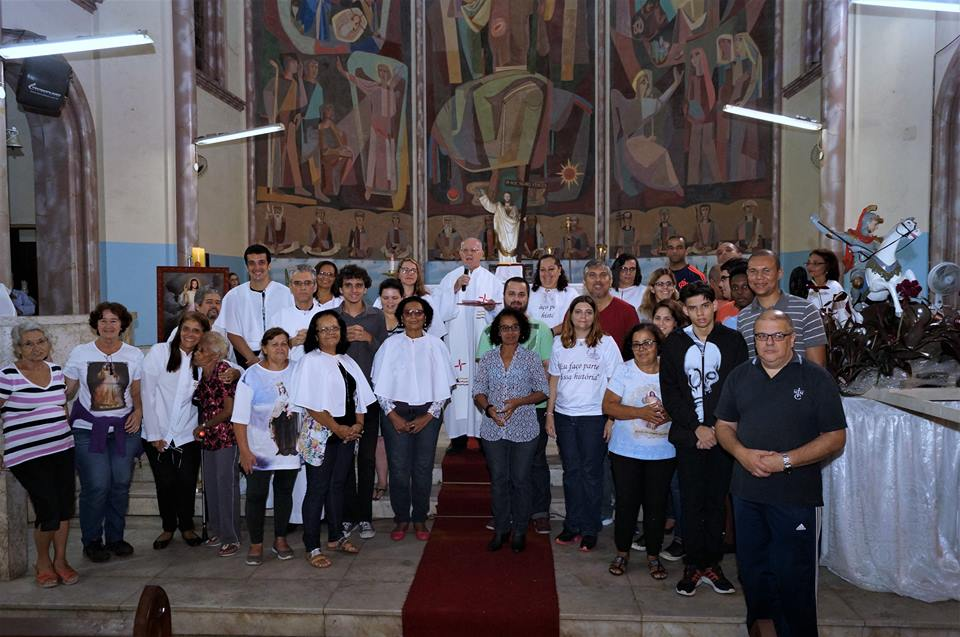 Missa de encerramento do Retiro do Discipulado no Rio de Janeiro
