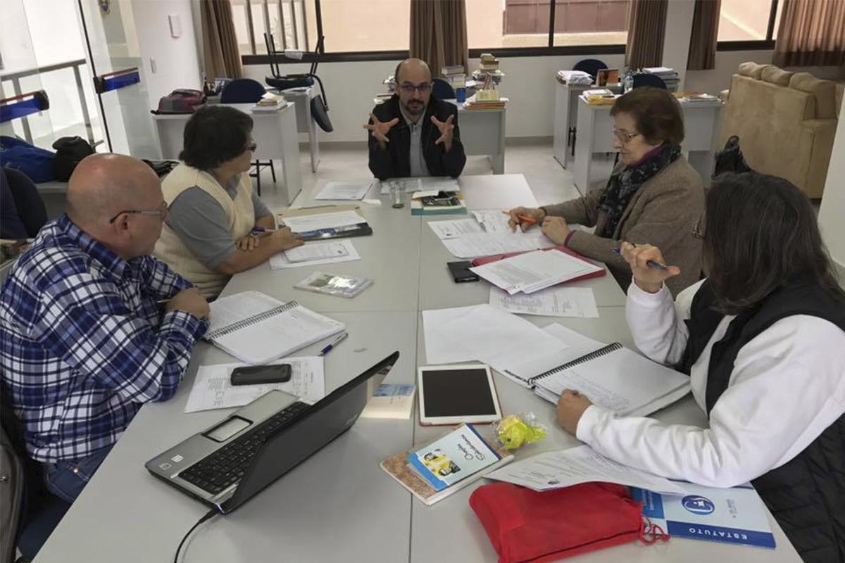 Comissão Salvatoriana de Justiça e Paz se reuniu no último fim de semana no Paraná