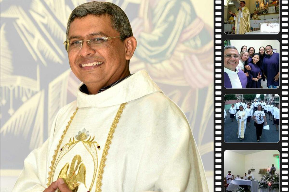 Comemoração de 15 anos de presbitério do Pe. Jovanês