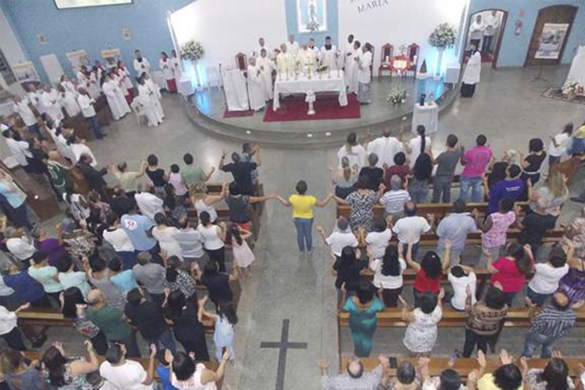 Jubileu de 25 anos da Paróquia NS Lourdes em Várzea Paulista