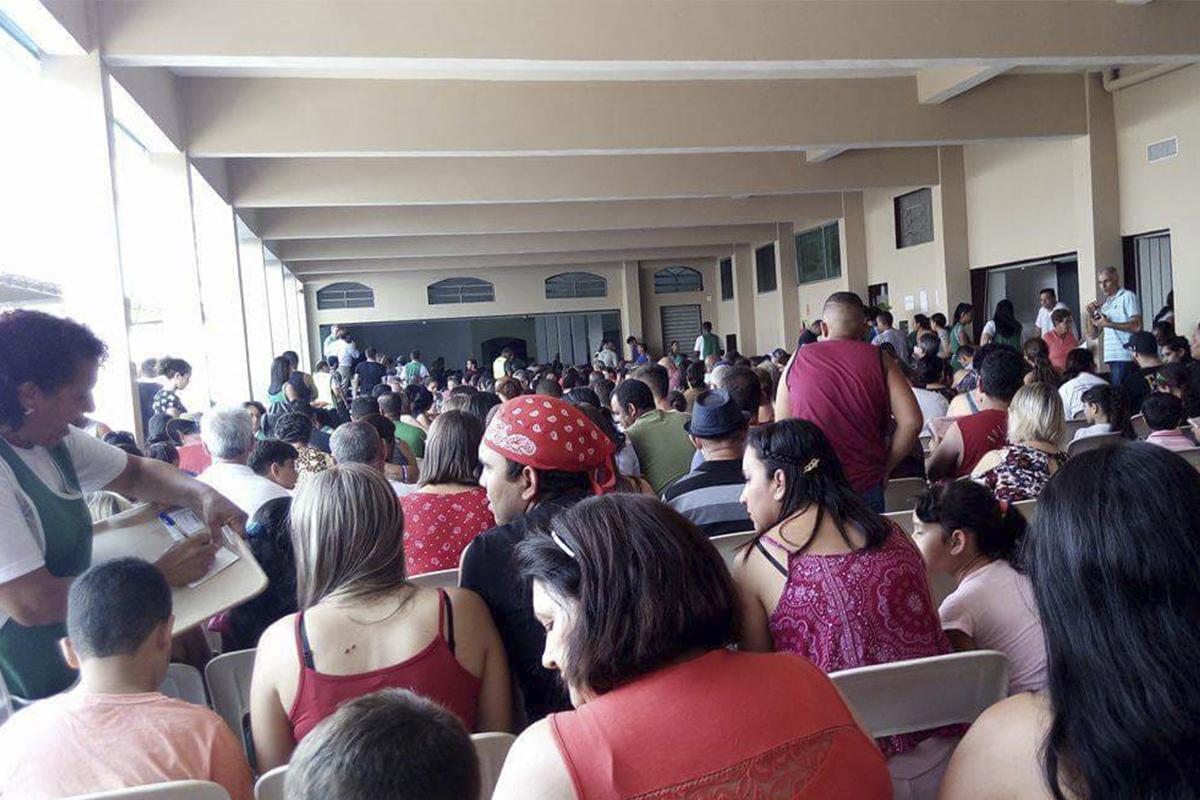 Ação beneficente ao povo de Moçambique em Várzea Paulista