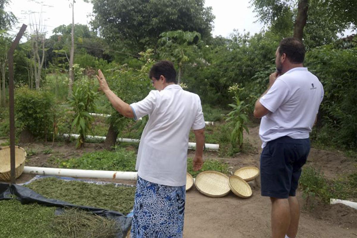 Visita às Irmãs em Messica, Chimoio