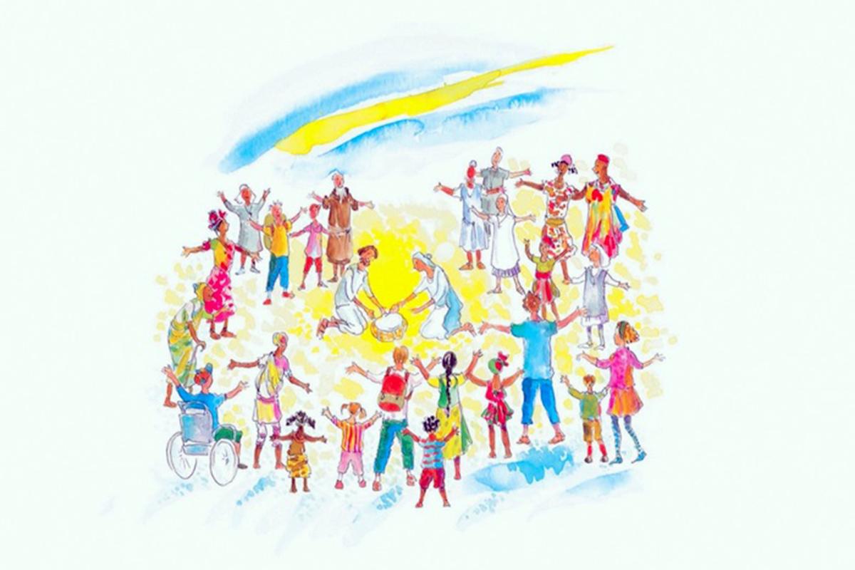 Cáritas Internacional incentiva olhar as crianças refugiadas